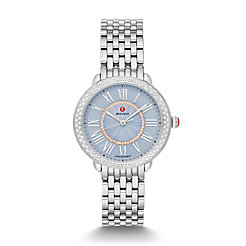 Serein Mid Stainless Diamond Dial Watch