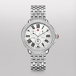 Serein Glamour Diamond on Diamond Bracelet Watch