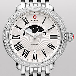 Serein Diamond Moon Phase Watch