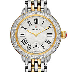 Serein 12 Diamond Two Tone Watch