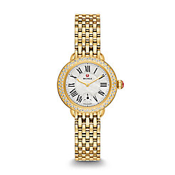 Serein 12 Diamond Gold Watch