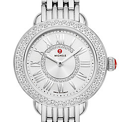 Serein Petite Stainless-Steel Diamond Watch