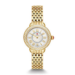 Serein Petite18k Gold Diamond Watch