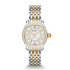 Lilou Two-Tone 18k Gold Diamond Watch