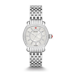 Lilou Stainless Diamond Watch