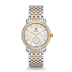 Gracile Two-Tone Diamond, Diamond Dial Watch