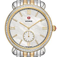 Gracile Two-Tone Diamond, Diamond Dial Watch