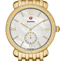 Gracile Diamond Gold, Diamond Dial Watch