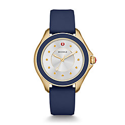 Cape Topaz Gold Tone, Navy Watch