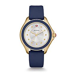 Cape Topaz Gold Tone, Navy Watch