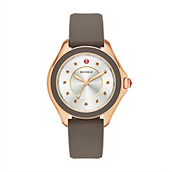 Cape Smoky Quartz Rose Gold Tone Cocoa Watch
