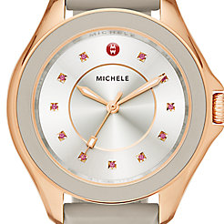 Cape Topaz Rose Gold Taupe Watch