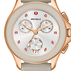 Cape Chrono Rose Gold, Taupe Watch