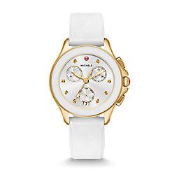 Cape Chrono Gold, White Watch