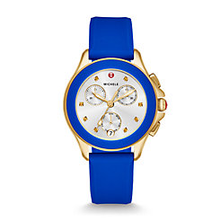 Cape Chrono Gold Cobalt Watch