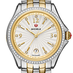 Belmore Diamond, Two-Tone Diamond Dial Watch