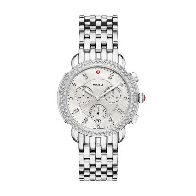 36f620c6e MICHELE® Watches - Sidney Diamond, Diamond Dial Watch