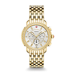 Sidney Diamond Gold, Diamond Dial Watch