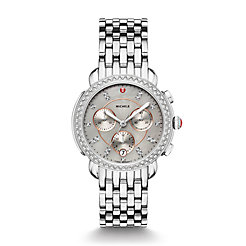 Sidney Stainless-Steel Diamond Watch