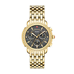 Sidney Gold Diamond Watch