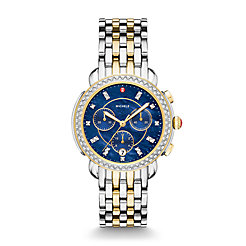 Sidney Two-Tone Diamond Watch