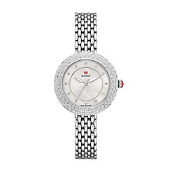 Camile Stainless Diamond Watch
