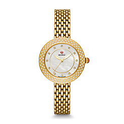 Camile Gold Diamond Watch