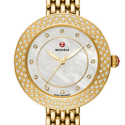 Camile Gold Diamond Watch