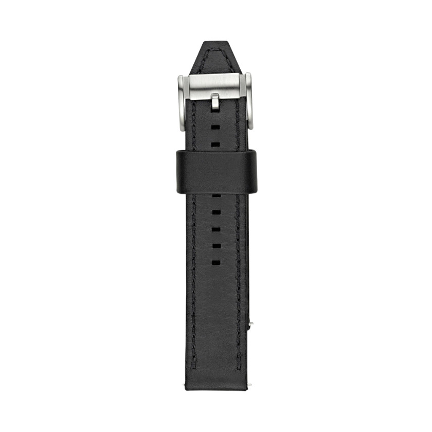 Fossil  Leather 22mm Watch Strap - Black  22287598