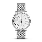 2235ed844 FOSSIL Watch,Hybrid Smartwatch - Barstow Smoke Stainless Steel Mesh ...